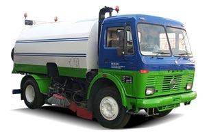 Tata LPT 1613 Road Sweeper