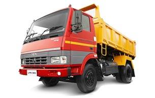 Tata LPK 909-5 CUM Tipper