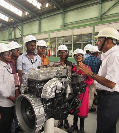Tata Motors skill development programme India