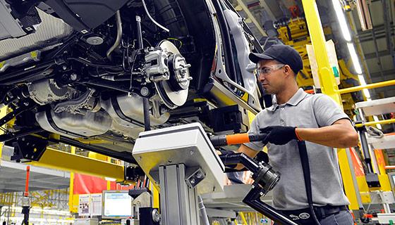 automobile manufacturing facility