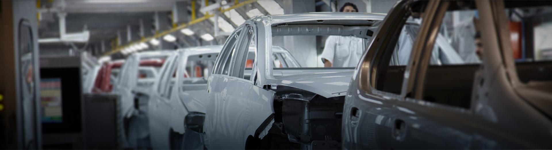 Tata Motors car manufacturing plant in India