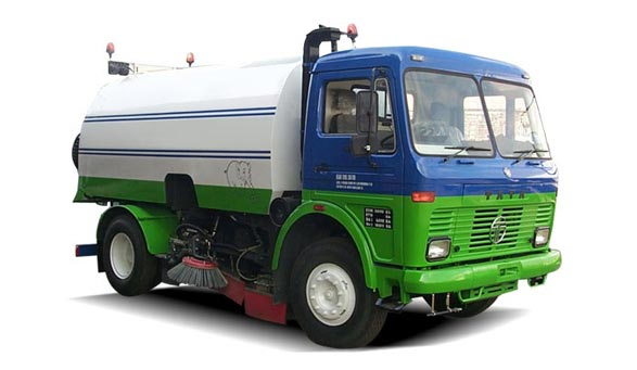 Tata LPT 1613 Road Sweeper
