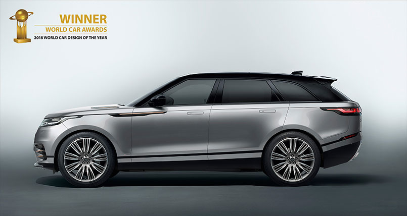 Range Rover Velar Named Most Beautiful Car In The World Tata Motors Limited
