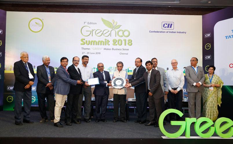 Tata Motors' Sanand and Pantnagar Plants Honoured with GreenCo